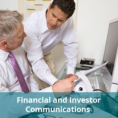 Financial and Investor Communications