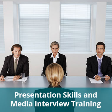 Presentation Skills and Media Interview Training
